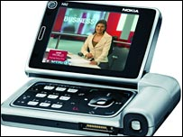 Nokia's DVB-H-enabled handset, N92