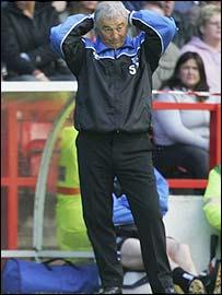 Gillingham boss Stan Ternent