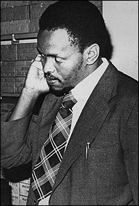 Steve Biko (Gentileza: BAHA, Archivos Bailey de Historia Africana)