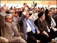 Iraqi MPs voting on Sunday