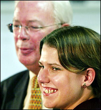 Jim Wallace and Jo Swinson