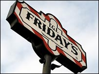 TGI Friday's sign