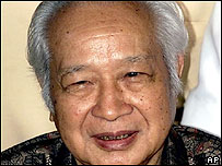 Former Indonesian President Suharto. File photo