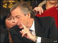 N�stor Kirchner, presidente de Argentina