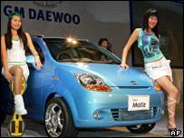 GM Daewoo's Matiz sub-compact car