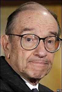 Alan Greenspan, presidente de la Reserva Federal de EE.UU.