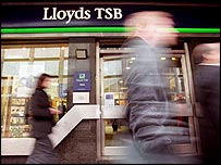 A Lloyds TSB branch