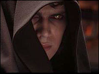 Hayden Christensen in Revenge of the Sith