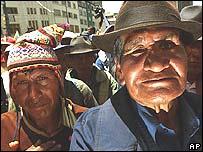 Campesinos bolivianos