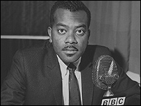 Sir Trevor McDonald in 1970
