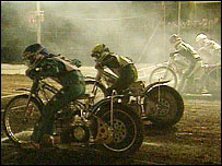 Speedway racing at Long Eaton