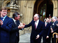 Michael Howard meets new Conservative MPs