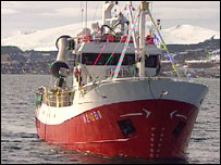 Whaling boat (BBC)