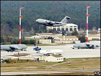 US airbase in Germany