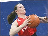 Great Britain player Caroline Maclean