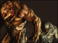 Screenshot from Doom III, Activision