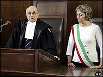 Judge Luigi Cerqua acquits five Tunisians of terror offences in a Milan court