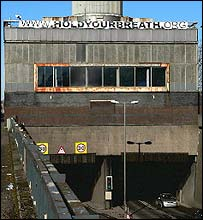 Clyde Tunnel entrance