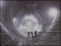 Clyde Tunnel workers