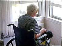 Paciente con Alzheimer.