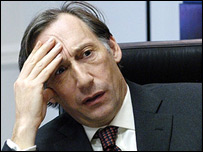 Chris Langham in BBC TV series The Thick of It