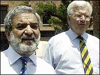Ehsan Mani and Malcolm Speed