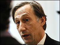 Chris Langham in The Thick of It