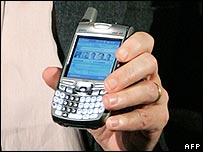 Treo phone with Windows software