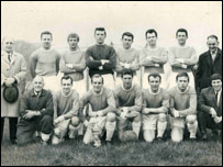 Colwyn Bay team photo - from the book Come On The Bay