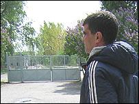 Yasser, a Syrian asylum seeker