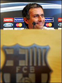 Entrenador del Chelsea, Jos� Mourinho.