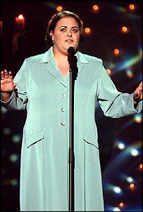 Maltese singer Chiara in 1998