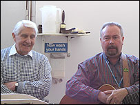 Dennis Dutch and Frank Hennessy