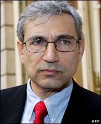 Turkish novelist Orhan Pamuk