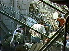 Rescuers hunt for survivors in the wreckage