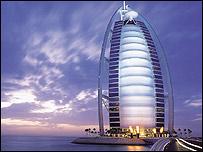 Hotel Burj Al-Arab, en Dubai