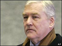 Conrad Black entering court in Chicago