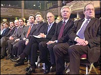 The outgoing shadow cabinet