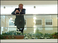 CBI director general Digby Jones at the new centre