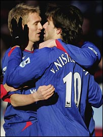 Darren Fletcher and Ruud van Nistelrooy