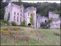 Gwrych Castle near Abergele