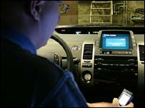 Testing of car communications system, F-Secure