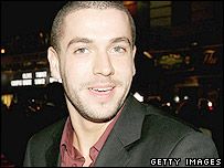 X Factor winner Shayne Ward