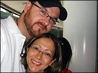 Justin Ledingham and Seda Tekoz