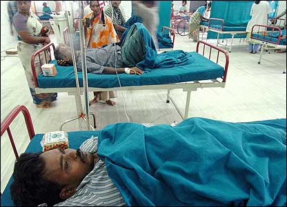 Some 37 people, who were injured in the incident, have been admitted to various city hospitals.