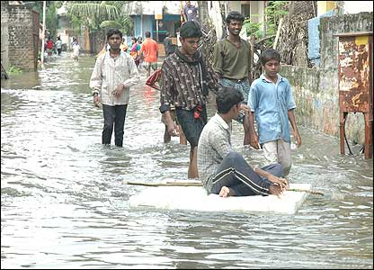 Chennai has seen the heaviest rains in five decades this year, and large parts of the city have been flooded