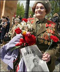 Ветеран войны во Львове