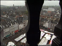 An image of a square in Maastricht