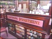 The museum's pharmacy