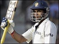 VVS Laxman celebrates his half-century in Ahmedabad